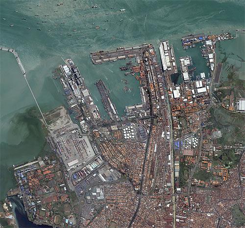 Imagem de Satélite - Surabaya, Indonésia